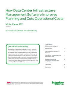 DCIM Software Improves Planning and Cuts Operational Costs