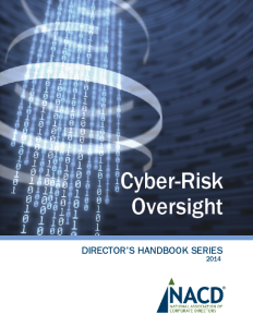 NACD Cyber-Risk Oversight