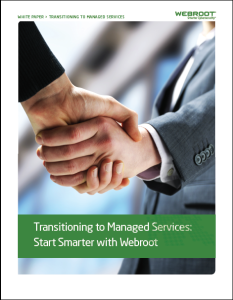 Transitioning to Managed Services